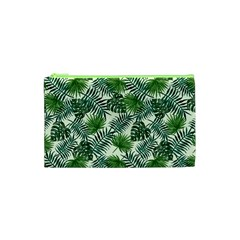 Leaves Tropical Wallpaper Foliage Cosmetic Bag (XS)