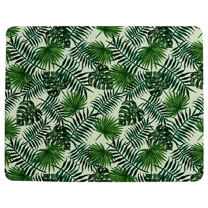 Leaves Tropical Wallpaper Foliage Jigsaw Puzzle Photo Stand (Rectangular)