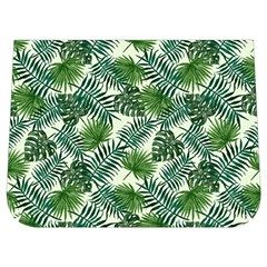 Leaves Tropical Wallpaper Foliage Buckle Messenger Bag