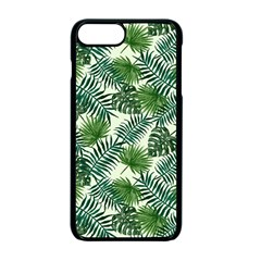 Leaves Tropical Wallpaper Foliage iPhone 7 Plus Seamless Case (Black)