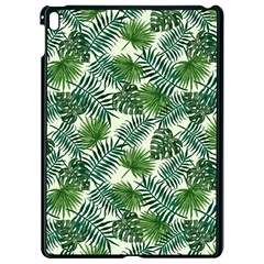 Leaves Tropical Wallpaper Foliage Apple iPad Pro 9.7   Black Seamless Case