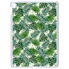 Leaves Tropical Wallpaper Foliage Apple iPad Pro 9.7   White Seamless Case