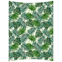 Leaves Tropical Wallpaper Foliage Back Support Cushion by Pakrebo
