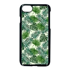 Leaves Tropical Wallpaper Foliage Iphone 8 Seamless Case (black) by Pakrebo