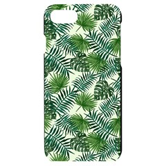 Leaves Tropical Wallpaper Foliage iPhone 7/8 Black UV Print Case