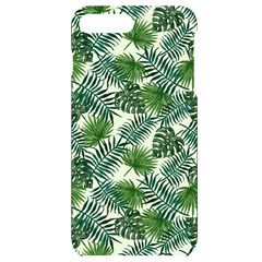 Leaves Tropical Wallpaper Foliage iPhone 7/8 Plus Black UV Print Case