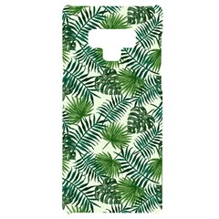Leaves Tropical Wallpaper Foliage Samsung Note 9 Black UV Print Case