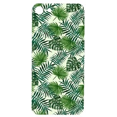 Leaves Tropical Wallpaper Foliage iPhone 7/8 Soft Bumper UV Case