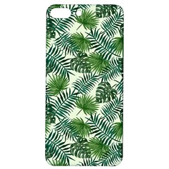 Leaves Tropical Wallpaper Foliage iPhone 7/8 Plus Soft Bumper UV Case