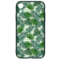 Leaves Tropical Wallpaper Foliage iPhone XR Soft Bumper UV Case