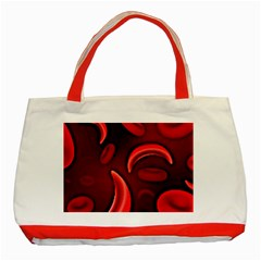 Cells All Over  Classic Tote Bag (red) by shawnstestimony
