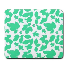Botanical Motif Print Pattern Large Mousepads