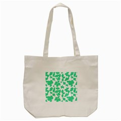 Botanical Motif Print Pattern Tote Bag (Cream)