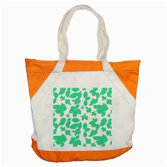 Botanical Motif Print Pattern Accent Tote Bag