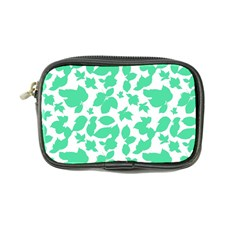Botanical Motif Print Pattern Coin Purse