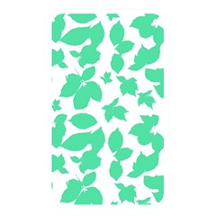 Botanical Motif Print Pattern Memory Card Reader (Rectangular)