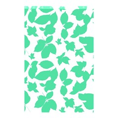Botanical Motif Print Pattern Shower Curtain 48  x 72  (Small)