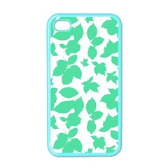 Botanical Motif Print Pattern iPhone 4 Case (Color)