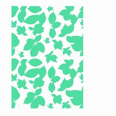 Botanical Motif Print Pattern Large Garden Flag (Two Sides)