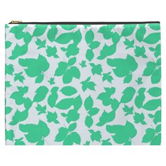 Botanical Motif Print Pattern Cosmetic Bag (XXXL)