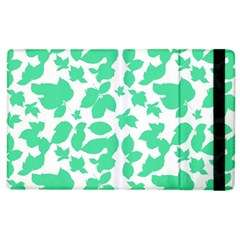 Botanical Motif Print Pattern Apple iPad 3/4 Flip Case