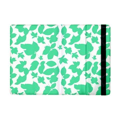 Botanical Motif Print Pattern Apple iPad Mini Flip Case