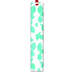 Botanical Motif Print Pattern Large Book Marks