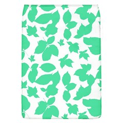 Botanical Motif Print Pattern Removable Flap Cover (L)