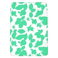 Botanical Motif Print Pattern Removable Flap Cover (S)