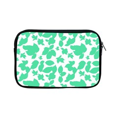 Botanical Motif Print Pattern Apple iPad Mini Zipper Cases