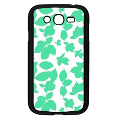 Botanical Motif Print Pattern Samsung Galaxy Grand DUOS I9082 Case (Black)
