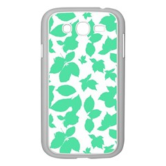 Botanical Motif Print Pattern Samsung Galaxy Grand DUOS I9082 Case (White)