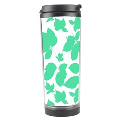 Botanical Motif Print Pattern Travel Tumbler