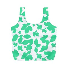 Botanical Motif Print Pattern Full Print Recycle Bag (M)