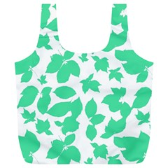 Botanical Motif Print Pattern Full Print Recycle Bag (XL)