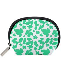 Botanical Motif Print Pattern Accessory Pouch (Small)