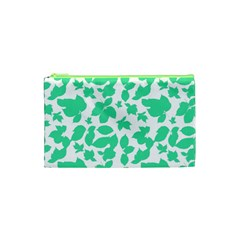 Botanical Motif Print Pattern Cosmetic Bag (XS)