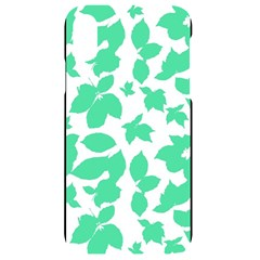 Botanical Motif Print Pattern iPhone XR Black UV Print Case