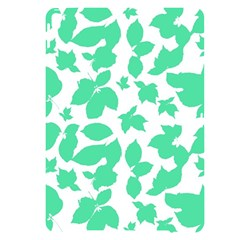 Botanical Motif Print Pattern Apple iPad Pro 10.5   Black UV Print Case