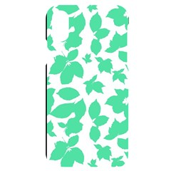 Botanical Motif Print Pattern iPhone X/XS Black UV Print Case