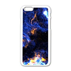 Universe Exploded Iphone 6/6s White Enamel Case by WensdaiAmbrose