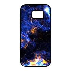 Universe Exploded Samsung Galaxy S7 Edge Black Seamless Case by WensdaiAmbrose