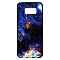 Universe Exploded Samsung Galaxy S8 Plus Black Seamless Case by WensdaiAmbrose