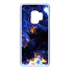 Universe Exploded Samsung Galaxy S9 Seamless Case(white) by WensdaiAmbrose