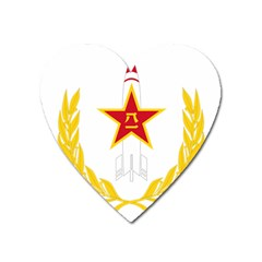 Badge Of People s Liberation Army Rocket Force Heart Magnet by abbeyz71