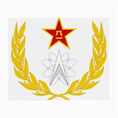 Badge Of People s Liberation Army Strategic Support Force Small Glasses Cloth (2 Sides) by abbeyz71