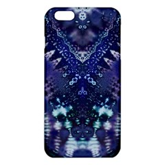 Blue Fractal Lace Tie Dye Iphone 6 Plus/6s Plus Tpu Case by KirstenStar