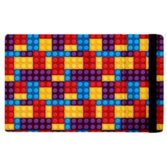 Lego Background Game Apple Ipad Mini 4 Flip Case by Mariart