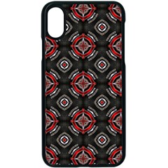 Pattern Star Iphone X Seamless Case (black) by AnjaniArt