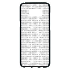 Binary Background Samsung Galaxy S8 Plus Black Seamless Case